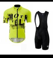 Yaz Morvelo Takım Bisiklet Kısa Kollu Jersey Önlüğü Şort Takım Elbise Erkekler Nefes MTB Bisiklet Kıyafetleri Ropa Clclismo Yarış Bisiklet Giyim Y21041