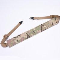 Tactische slinger Outdoor riem Twee punt veiligheid touw riem CS veld Straddle harnas
