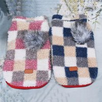 Dog Apparel Clothes Winter Warm Fleece Vest Pet Puppy Coat Jacket Costumes Chihuahua Pug Hooded For Small Dogs Cats Clothing