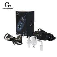 G9 GreenLightVapes Tick Enail Bag Kit V2 Bobina Calentador Wax Pen Vaporizador de uñas E DAB Portable Dnail para Dabber Nuevo