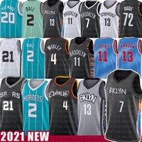 13 Harden Lamelo 2 Ball 21 7 Кевин Баскетбол Джерси Крис 4 УБЕРСКИЙ ДУБ УБЕРИТЕЛЬНЫЙ КИРИЕ Гордон 20 Hayward 11 Ирвинг 2021 майки