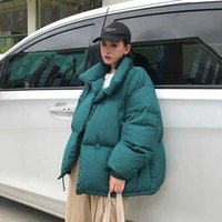 Women's Down & Parkas Bread Clothes Women Short Ins Loose Korean Cotton Fashion Bf Puffy Coat Small Padded Jacket Tide Clothing