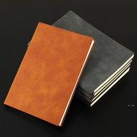 A5 / A6 / B5 الملونة الدفاتر سميكة الأعمال المفكرة تخصيص ناحية دفتر الأستاذ الطالب القرطاسية الكتابة دفتر بو الجلود FWF8461