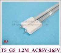 T5 LED-rörlampa G5 T5 LED-fluorescerande rörlampa 1200mm SMD 2835 20W Nej Nej Need Ballast AC85V-265V Inmatning direkt