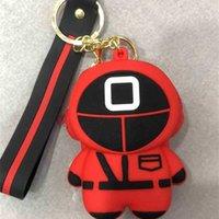 Sevimli Kırmızı Kalamar Oyunu Bebek Şekli Silikon Çantalar İpi El Çantası Cüzdan Karikatür İtme Kabarcık Fidget Kurulu Oyunu Oyuncaklar Anahtarlık Anahtarlık Noel Sahne G040FP3