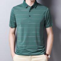 YMWMHU 2021 Nouvelle Arrivée Polo Chemise à manches courtes Été Summer Chemise Cool Streetwear Fashion Homme Polo Shirt Hommes Tops Vêtements