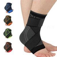 1Pair Compression en nylon avec bandage de basketball Football Football Soutien Salle de sport Sports Sports Elastic Brace Protector Bretelles Courroie