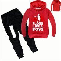 Z Amp Y 2 16y Fall Fashion Kids Graphic Floss Like A Boss Clothing Set Boys Hoodies Pants 2pcs Tracksuit