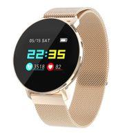 Donna Uomini Smartwatch Cardiaco Voto Monitor T5 IP68 Sport impermeabile Variopinto Smartwatch SmartWatch Sonno di monitoraggio Sport Sport Sport Conteggio