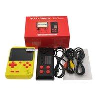 مصغرة الرجعية FC 400 ألعاب وحدة التحكم المحمولة لعبة لاعب 8 بت عصا التحكم 3 بوصة gamepad gameboy