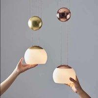 Chandeliers Nordic Iron Led Wall Moon Lamp Cocina Accesorio Hanging Ventilador De Techo Hanglampen Lamparas