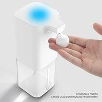 350ml Dokunmaz Otomatik Sabunluk Ile Efervesan Tablet Sensörü Köpük Banyo Mutfak El Yıkama Sıvısı