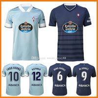 2021 Celta Vigo 축구 유니폼 홈 멀리 아이고 아스파스 키즈 라프 냐 고메즈 Sisto Hugo Mallo Maillots Camiseta Camisa de Futebol Kits 20 21 축구 셔츠