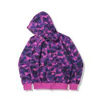 망 디자이너 후드 남자 여성 스타일리스트 재킷 까마귀 위장, 남성 6 색에 대 한 고품질 스웨터 인쇄