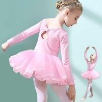 Giyim Fiziksel AteşlerKirt SVE Bale Sonbahar Çocuk Eğitim Küçük Uzun Kızın Chines Dansı Drs