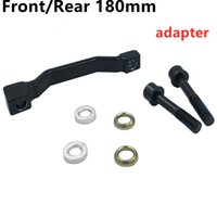 Black MA F180P P2 Post Mount Disc Brake Adapter (Front) (180mm) (P P) 7 in rotor PM A pillar Bicycle Accessories