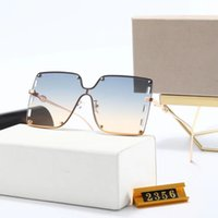 Hohe Qualität Mode Sonnenbrillen für Frauen Designer Marke Sun Glasiness Square Metal Frame 3 Farben Optional