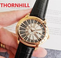 Genuine Leather Buckle Mens Watch Fully Automatic Mechanical Watches 45mm 316L Stainless Steel Case classic men need Christmas gift Self-wind Wristwatches