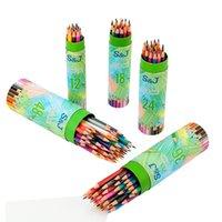 Lápis infantil e escola primária estudantes