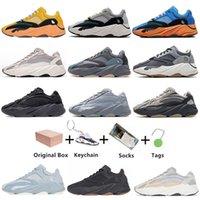 3M reflectante 700 v2 zapatos de correr estática kanye inercia ola tephra sólido gris utilidad negro vanta hombres mujeres deporte zapatillas de deporte EUR 36-45