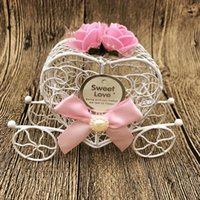 Gift Wrap Box Exquisite Romantic Metal Love Heart Favor Candy For Wedding