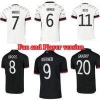 ألمانيا سان كيميتش لاعب نسخة لكرة القدم الفانيلة فيرنر هافرز غنابي ريوس مايوه دي لكرة القدم قميص أطفال عدة موحدة