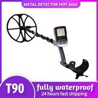 T90 Detectores industriais de metal subterrâneos Pinpointer PinPointer Gold Treasure Hunter