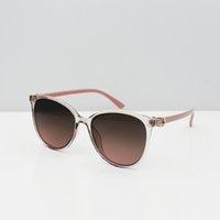 고품질 패션 여자 선글라스 핑크 UV400 타원형 파티 안경 망 선글라스 클래식 레트로 안경 3753