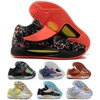 KD 14 14s أحذية كرة السلة أحذية رياضية الرجال النساء كيفن المتداولة الأزهار المنزلي المنزلي حلم مخدر عميق الملكي التكبير 2021 مدرب رياضي