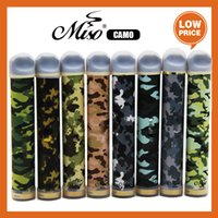 Miso CAMO Disposable Vape electronic cigarette 950mAh Battery 2200Puffs Vaporizer 6.5ml With 10 Colors Unique camouflage design style Available Gunnpod puff plus