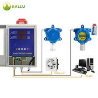 Detector de alarme de gás fixo industrial combustível ex ch4 monitor analisadores de vazamento específicos da fábrica