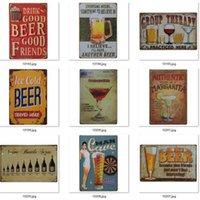 Métal peinture Poster de la bière 4000+ Style Corona Extra Tin Signes Rétro Stickers muraux Décoration Art Plaque Vintage Home Decor Bar Pub Owe9438