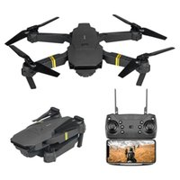 DRONES AERIAL CAMERE 무인 항공기 E58 4 축 접이식 실시간 이미지 전송 고정 높이가있는 작은 고화질 WIFI