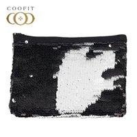 Portamonete Coofit 2021 Arrivo Paillettes Pochette da donna Moda Zipper Cambiatore Borsa Borsa Girl Femmina per Portafoglio da regalo Portafoglio