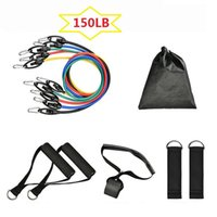 Resistance Bands Band Setting Exercise Anchor Leg Ankle Training Physiotherapy Set With Door
