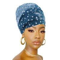 Hilado balinés impreso bufanda envuelta cabeza bufanda playa toalla multi función nudo algodón cáñamo bufanda sombrero