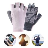 Cycling Gloves Summer Mtb Fingerless Men's Women's Bicycle Outdoor Mesh Bike Protective Sports Black Thin Riding Glove