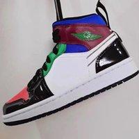 جودة عالية og jumpman 1 أحذية كرة السلة مع لون المرقعة ورنيش النهاية للرجال والنساء الرياضة في الهواء الطلق