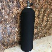 Cubierta de botella de cilindro de aire de tela de neopreno cerrado de buceo de buceo para 11/12 l máscaras de tanques