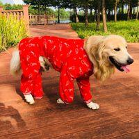 Big Dog Clothes Winter Large Outfit Jumpsuit Pajamas Japanese Akita Husky Labrador Golden Retriever Clothing Pet Costume Apparel