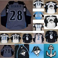 Ahl Milwaukee Admirals Hockey Jerseys Herren Womens Kids 6 Ryan Ellis 28 Janne Niskala 100% Stickerei Custom Ice DoctorIt Cut