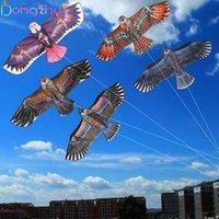 50 pcs voando pássaro águia águia pipa por atacado com 100 metros de linha crianças presentes ao ar livre brinquedos