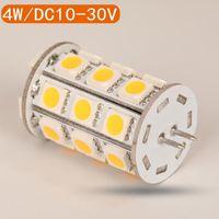 Ampuller Toptan 4 W G4 LED Ampul Yüksek Güç Işık 12VDC Dim 20 adet / grup Superbright 5 Yıl Garanti DHL