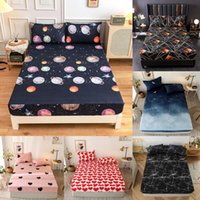 Bedding Sets One-piece Bedspread All-round Elastic Rubber Band Non-slip Dustproof Mattress Protector Can Be Customized