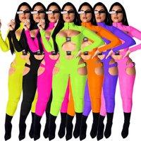 AOMEI بالجملة الصلبة السيدات قطعة واحدة حللا وسروال القصير النساء كامل طول داخلية