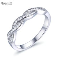 Cluster Rings Classic Jewelry Pure 925 Sterling Silver Cubic Zirconia For Women Men Engagement Anniversary Gifts