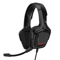 Onikuma K20 Słuchawki Gra Stereo Player Zestaw słuchawkowy dla PS5 PS4 Gaming z Mikrofonem LED Nadaje Słuchawki Xbox One PC PS3 Słuchawki