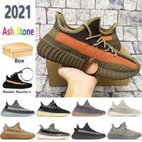 Negro 2019 Kanye zapatos de hombre Glow Cream White Zebra Blue Tint mujer deporte Zapatillas Antlia de lujo diseñador Sneaker boots Tamaño 36-4