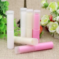 저장 병 항아리 100pcs / lot 4g 빈 분홍색 / 베이지 색 / 흰색 화이트 화장품 작은 지파 튜브 DIY 메이크업 립스틱 샘플 자루 팩 컨테이너