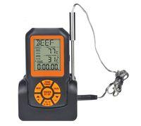 Бытовая кухня Пищевой термометр беспроводной барбекю термометр водонепроницаемый электронный барбекю термометр